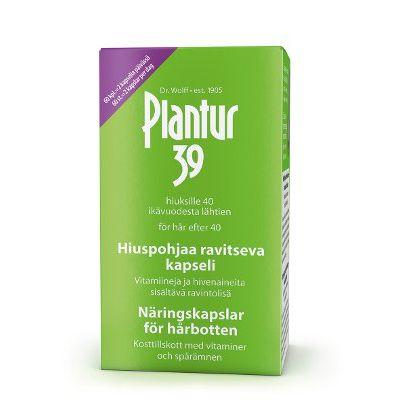 PLANTUR 39 HIUSPOHJAA RAVITSEVA KAPSELI 60 kpl