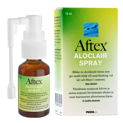 AFTEX ALOCLAIR SPRAY X15 ML