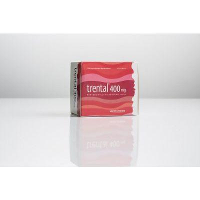 TRENTAL 400 mg depottabl 100 fol