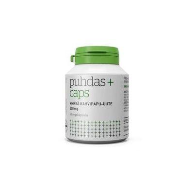 Puhdas+ Caps Vihreä kahvipapu-uute 200mg X60 kpl