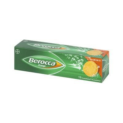 BEROCCA ORANGE poretabl 15 kpl