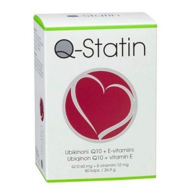 Q Statin Q10 + E-vitamiini X60 kaps