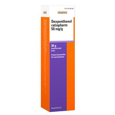 DEXPANTHENOL RATIOPHARM 50 mg/g emuls voide 30 g
