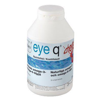 Eye q chews mansikanmakuinen rasvahappovalmiste 360 kpl
