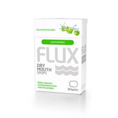 Flux Dry Mouth karviaisenmakuinen 30 imeskelytabl