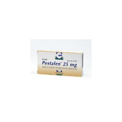 POSTAFEN 25 mg tabl 10 fol