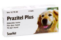 PRAZITEL PLUS 50 mg/144 mg/150 mg vet tabl 4 fol
