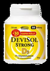 DEVISOL STRONG 50 MIKROG IMESKELYTABL 230 kpl