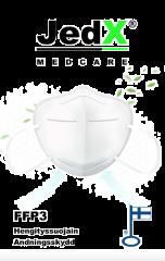 FFP3 sertifioitu JedX hengityssuojain   (FIN) 1 kpl